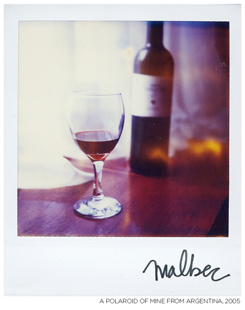 Wine-polaroid