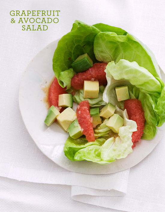 TYPE-grapefruit salad